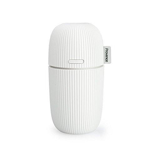 Topgio Luftbefeuchter 100ml Raumbefeuchter USB Ultraschall Aroma Aromatherapy Strom Essential Tragbar Flüstern-Ruhig Diffusor für Home Büro Schlafzimmer Auto Weiß (Beste Aromatherapie-luftbefeuchter)