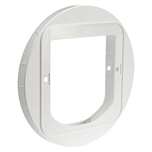 SureFlap Katzenklappe Glas Montage-adapter - weiß