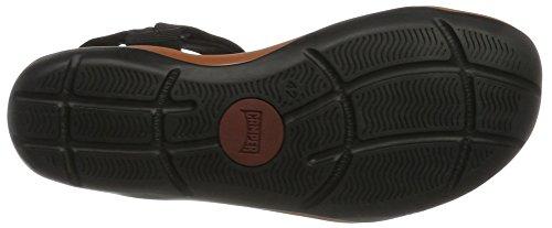 Camper Match, sandales Homme Noir (Black 037)