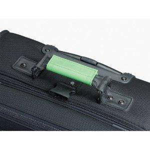 Lewis N. Clark Luggage Identifiers Handle Wraps/3 Pack (Green)