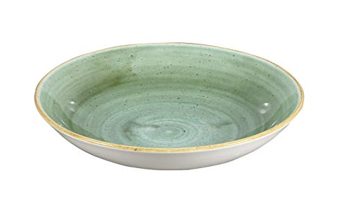 Churchill Stonecast Coupe Bowl - Cuenco (diámetro de 24,8 cm, Color a Elegir)