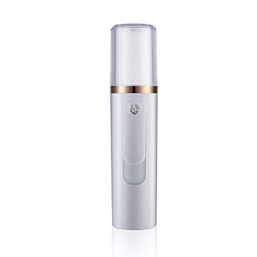 Handheld-Nano-Sprühbefeuchter Großer Sprüher des Face-Dampfer-Kühlers mit USB-Ladefunktion,White