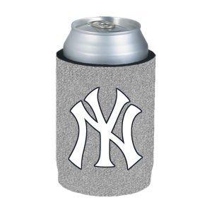 kolder-8686752229-new-york-yankees-silver-kaddy-can-holder-glitter-by-kolder