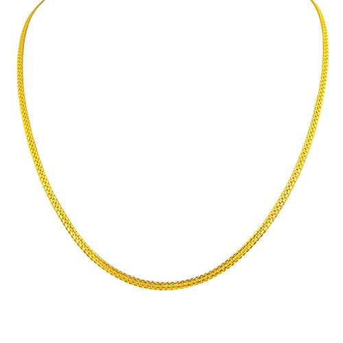 Sri Jagdamba Pearls 22k Yellow Gold Chain Necklace