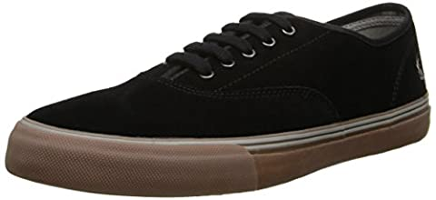 Fred Perry Clarence Suede Black Mens Trainers Size 41