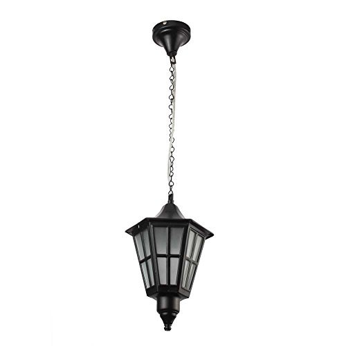 Decorative Hanging Light, Outdoor Color Black, traditional style