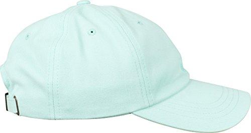 Flexfit Peached Cotton Twill Dad Cap Unisex Kappe für Damen und Herren, Stoff mit speziellem Peached Finish diamond blue