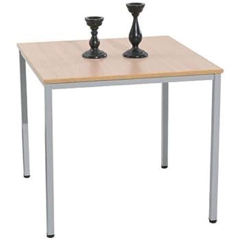 Esstisch Tisch ANDRE Beistelltisch 80 X 80 Cm Ahorn Holz Esszimmer  Küchentisch Photo