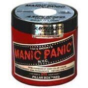 Manic Panic Pillarbox Red 4oz by Tish & Snooky's N.Y.C (English Manual)