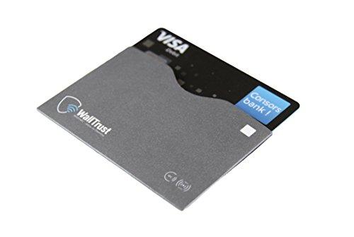 Reisen Sanft 3er Set Rfid Schutzhülle Nfc Ec Kredit-karte Datenschutz Blocker Schutz Hülle Spezieller Kauf Herren-accessoires