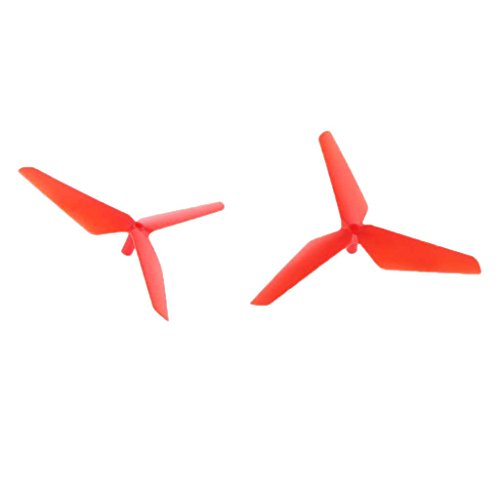55mm Klee Propeller Ersatzteile für Syma X5C Jjrc H5C RC Drohne Quadcopter - Rot, 55mm/2.17 Zoll - 4