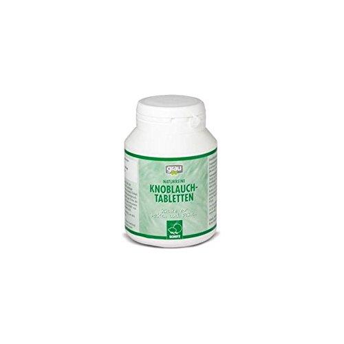 grau Naturreine Knoblauch-Tabletten für Hunde (200 Stück)