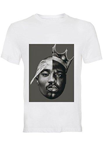 Tupac Shakur BIG Biggie Notorious L Damen T-Shirt (Entwurf auf Front)