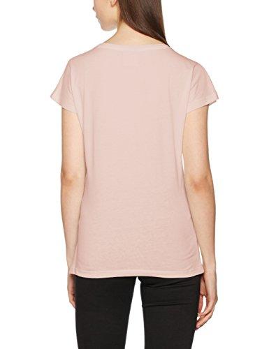 Vero Moda Vmbella Adventure Ss Top Box Dnm, T-Shirt Femme Rose (Peach Whip)