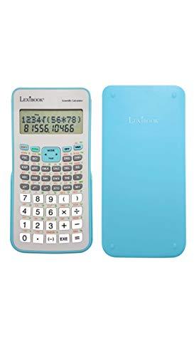 LEXIBOOK científico, calcul Des pourcentages, memorias Variables, Tapa rígida de protección, a Pilas, Azul/Blanco, sc494fr, Gris