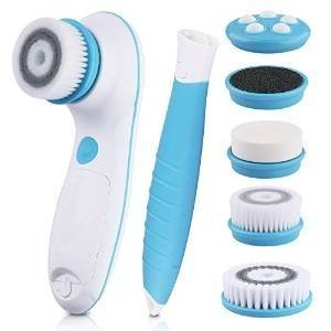 6-in-1-waterproof-electric-facial-body-cleansing-brush-with-2-speed-settings-for-skin-care-include-d