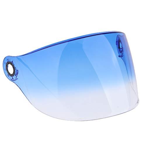 D DOLITY Visiera Casco Intergrale Protezione Sole Anti Graffio Per YOHE 357 358 350A 339 LINS - 2