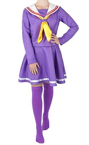 Cosplay Life No Game Kostüm No - CoolChange No Game No Life Kostüm Schuluniform von Shiro Größe: M