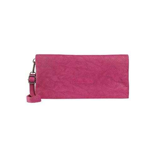 Fritzi aus Preussen Damen Ronja Clas Clutch, Pink (Fuchsia), 3x15x29 cm Fuchsia Damen Schuhe