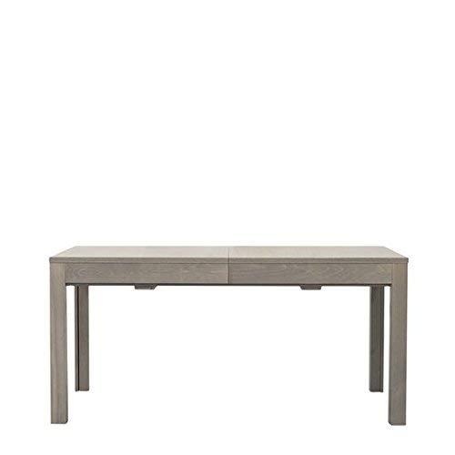 Fashion Commerce Rovere Tavolo, Legno, Grigio, 160x90x76 cm