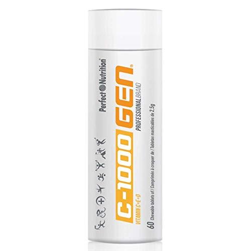 Vitamin C + E + D Hohe Kautkonzertierung 60 Tabletten 2500 mg Multivitamine 2 Monate Profi-Produkt PREMIUM - Multivitamin 60 Kautabletten