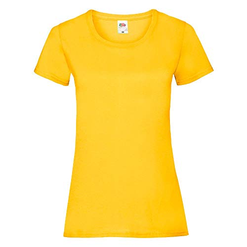 Fruit of the Loom - Lady-Fit Valueweight T - Modell 2013 M,Sunflower