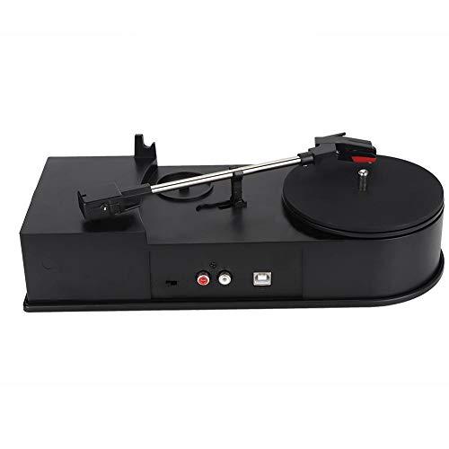 Denash Plattenspieler zu MP3-Konverter, Schallplatten Plattenspieler zu MP3-Konverter Bluetooth-Plattenspieler mit Stereo-Lautsprechern (Plattenspieler Mit Konverter)