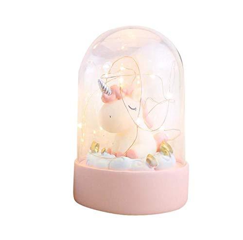 Jiaxingo Unicorn Night Light Unicorn Regalos para niñas,...