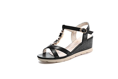 fq-real-womens-flower-t-strap-wedge-heel-ankle-strap-buckle-dress-sandals-55-ukblack