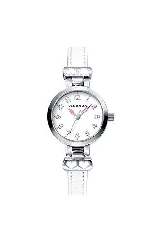 Reloj Viceroy 40890-05 Niña Piel Blanco Comunión