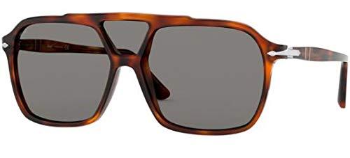 Ray-Ban Herren 0PO3223S Sonnenbrille, Grau (Tortoise Brown), 59.0