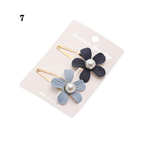 rle Blume Haarspange Für Mädchen Kinder Haarnadel Kinder Haarspange Haarspange Kopfschmuck Haar Styling ()