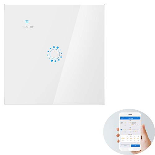 Interruptor de WiFi inteligente Montaje en pared Interruptor de luz WiFi Interruptores...