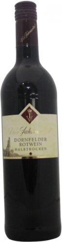 2014 Vier Jahreszeiten Winzer Dornfelder Rotwein QbA halbtrocken (1x0,75l)