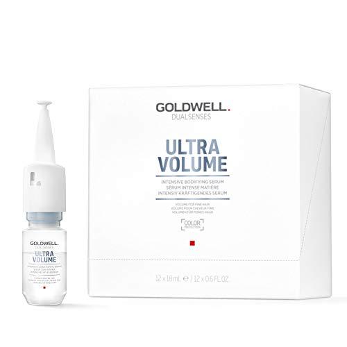 Goldwell Dualsenses Ultra Volume Intensive Serum 12 x 18 ml Schönheitsbooster mit Soforteffekt für...