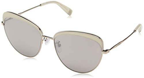Escada Sunglasses Damen Sonnenbrille, Grau (Shiny Mink)