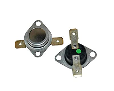 LAZER ELECTRICS Green Spot Tumble Dryer Thermostat Kit for Hotpoint Indesit Creda 1701583