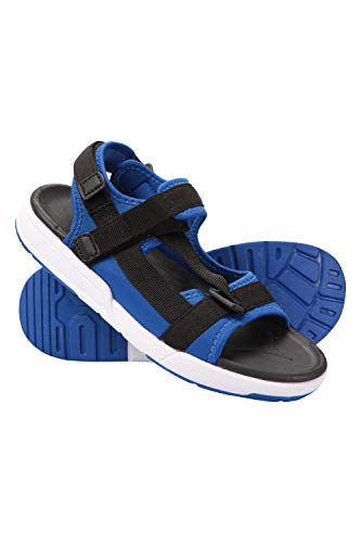 Mountain Warehouse Blaze Kids Sandals - Lightweight Footwear, Phylon Midsole, Adjustable Strap Sandals Shoes, Rubber Outsole, Neoprene Lined - for Walking, Holidays