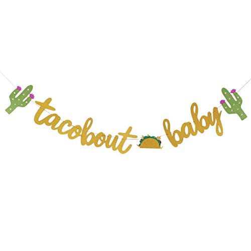Banner Hawaiian Themed Kaktus geformte Lebensmittel dekorative Flagge Party Bunting ()