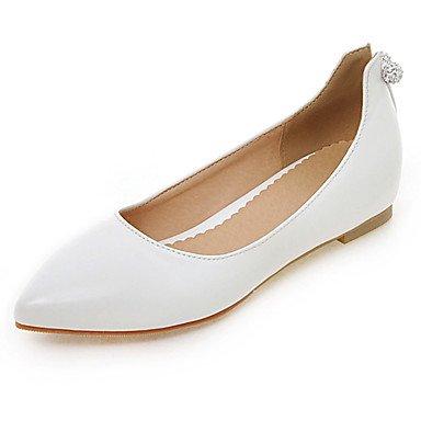 Confortevole ed elegante piatto scarpe donna Appartamenti Primavera Estate Autunno altri PU Office & Carriera Abbigliamento Sportivo tacco piatto altri Nero Blu Rosa Rosso Bianco White