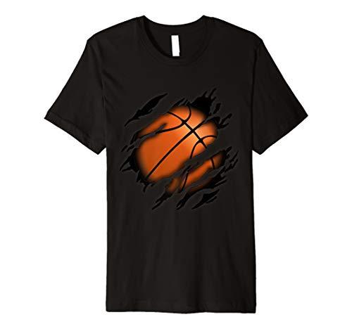 Basketball in mir Design, Basketballdesign T-Shirt