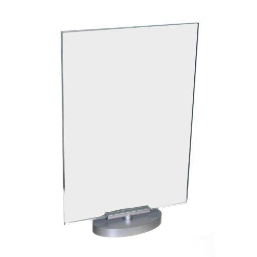 Acrylglas Werbeaufsteller / Speisekartenhalter / Werbeschild / DIN A4 Hochformat drehbar um 360°