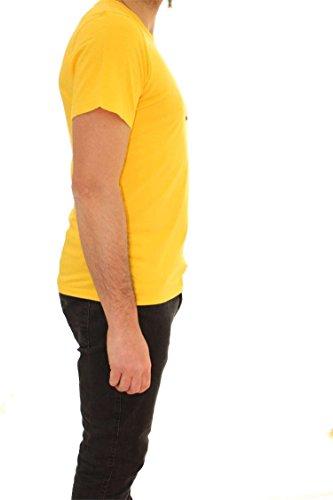 Napapijri Herren Regular fit Sapriol T-shirt Gelb Gelb