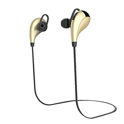 Elospy Hängenden Hals Bluetooth Sport Kopfhörer Metall Ohr Shell Gute Klangqualität wasserdicht und schweißfest Sport Fitness Lange Standby-Zeit für iPhone/PC/Laptop/iPad/Smartphone