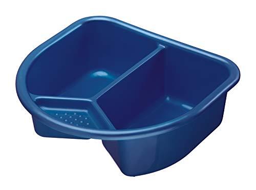 Imagen 2 de Rotho Babydesign 20006 0020 Top - Palangana con 2 compartimentos, color azul oscuro