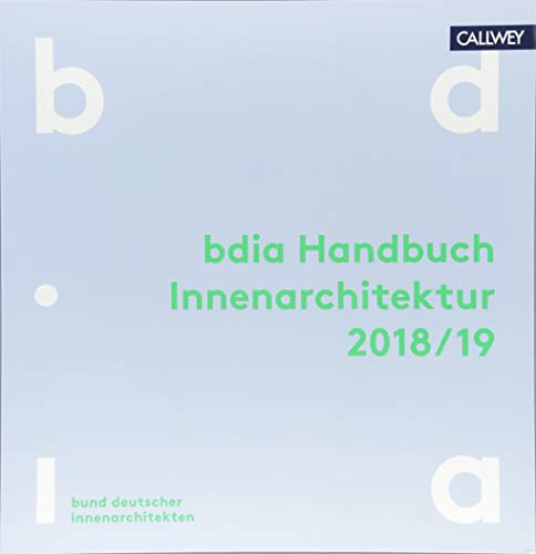 BDIA Handbuch Innenarchitektur 2018/19 Buch-Cover