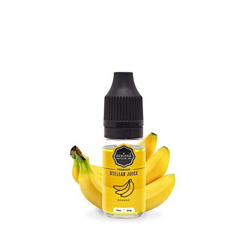 KNUQO E-liquid STELLAR Juice 10ml - Banane-Geschmack | e-Zigarette | Wiederaufladbare Elektronische Zigarette Liquid | e Shisha | Nikotinfrei