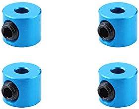 Square R/C RC Model Hop-ups SQ-SGE-17TB 2mm Aluminum Linkage Stoppers (Light Blue) 4 pcs. | De Qualité Constante