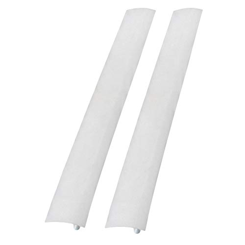sadqwdf 53,3 cm Silicone Kitchen Stove Counter Gap Cover Forno Guardia Spill Seal Slit Filler 1PCS White