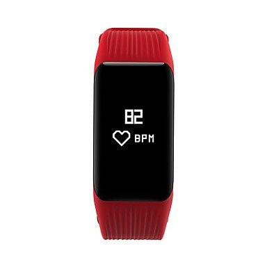 Lemumu MGCOOL Band 3 Bluetooth Smart WristbandSmart Band Herzfrequenzsensor Smart Watch für Android IOS, Schwarz